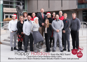 Happy Holidays from the N.E.S. Inc. Team